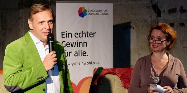 Fritz Fessler Moderatorin