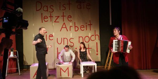 Theatergruppe Fleischerei / Genossenschaft Bank für Gemeinwohl