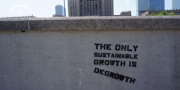 Graffiti-Wand degrowth