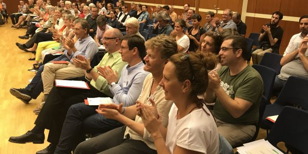 Generalversammlung am 8.9.2018