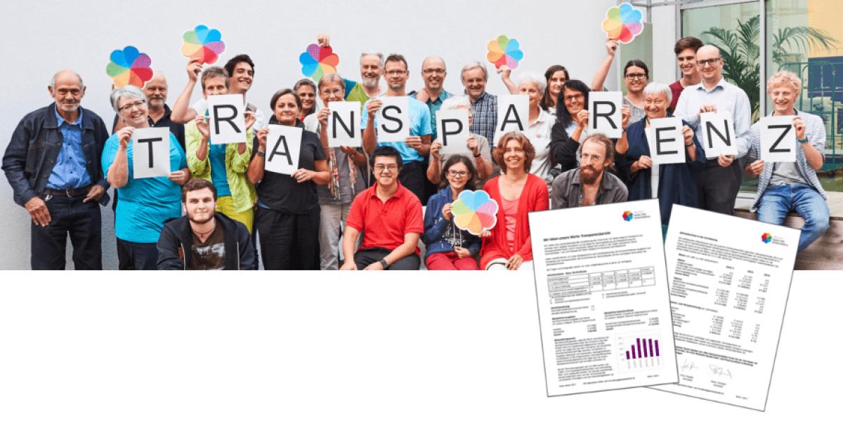Transparenz (Foto mit Genossenschafter*innen)
