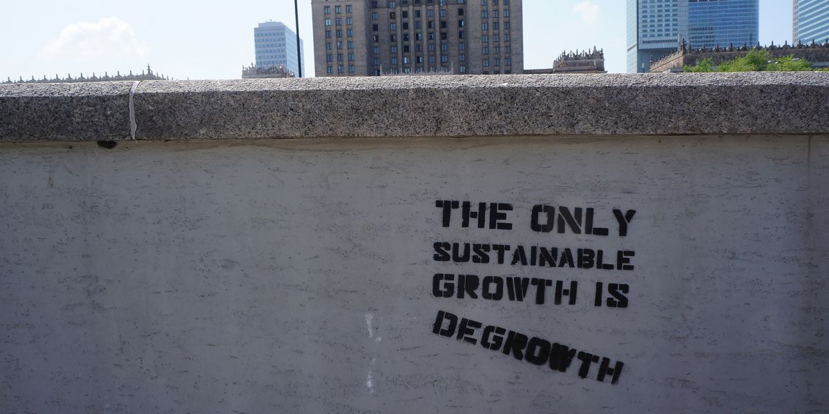 Graffiti-Wand degrowth