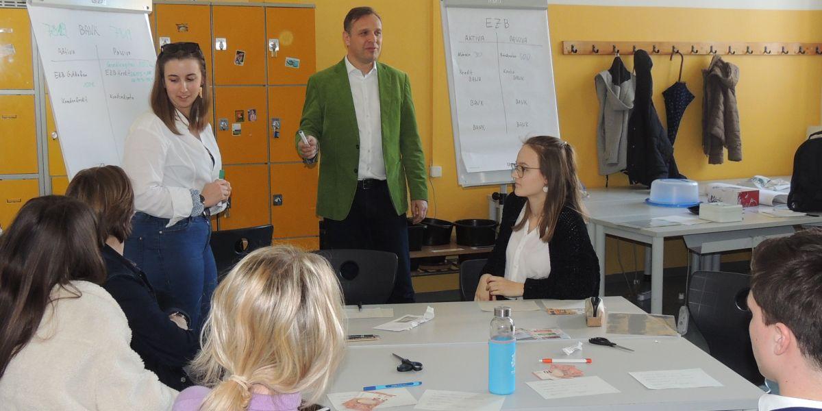 Fritz in Vienna Business School