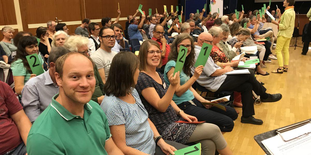 Abstimmung Generalversammlung