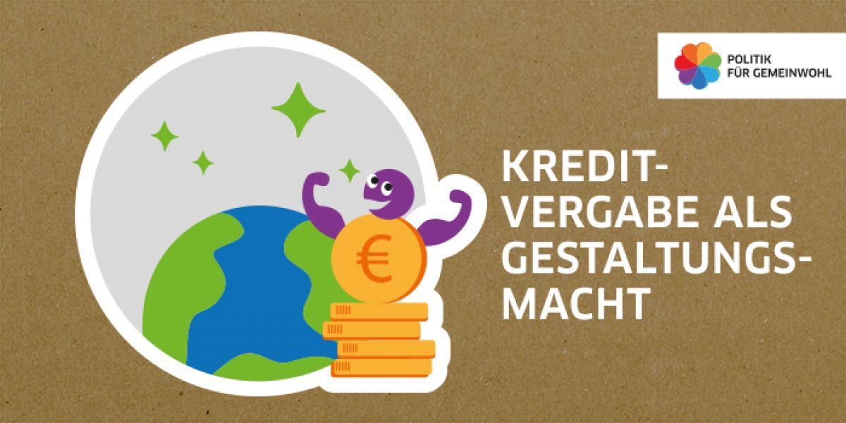 Kreditvergabe als Gestaltungsmacht Illustration